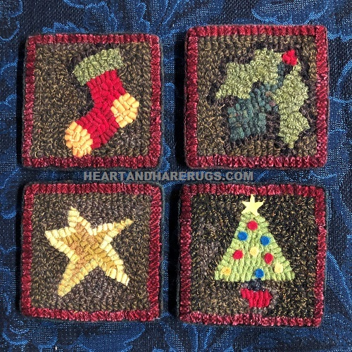 #HH092 Christmas Coasters