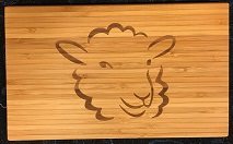 Cutting Board - Sheep