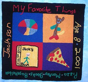 My Favorite Things Rug � Kit � 4 images/Monk�s