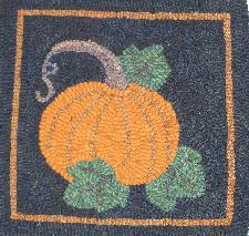 Pumpkin & Leaves