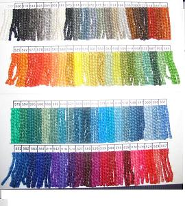Rauma Ryegarn Rug Yarn Color Card