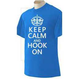 Keep Calm & Hook On T-Shirt