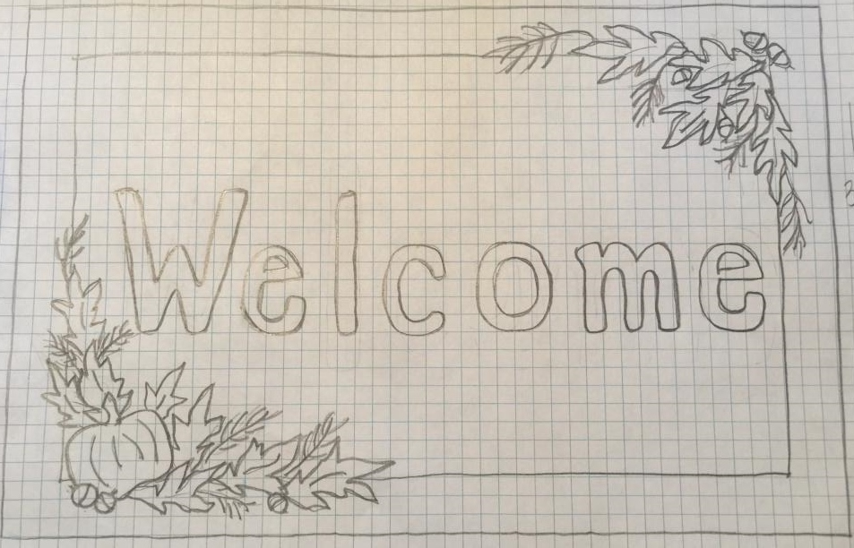 Large Autumn Welcome
